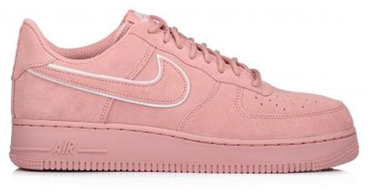 b066660ccdd1a2 Lyst - Nike Air Force 1 07 Lv8 Suede in Pink for Men