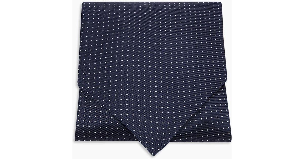 Turnbull /& Asser Hat Bulldog Polka Dot Pocket Square Handkerchief Multi SOLD OUT