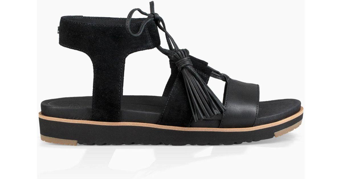 685ecea91c3 Ugg Maryssa (black) Sandals