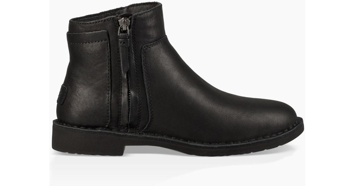 4660d4ae633 Ugg Black Women's Rea Leather