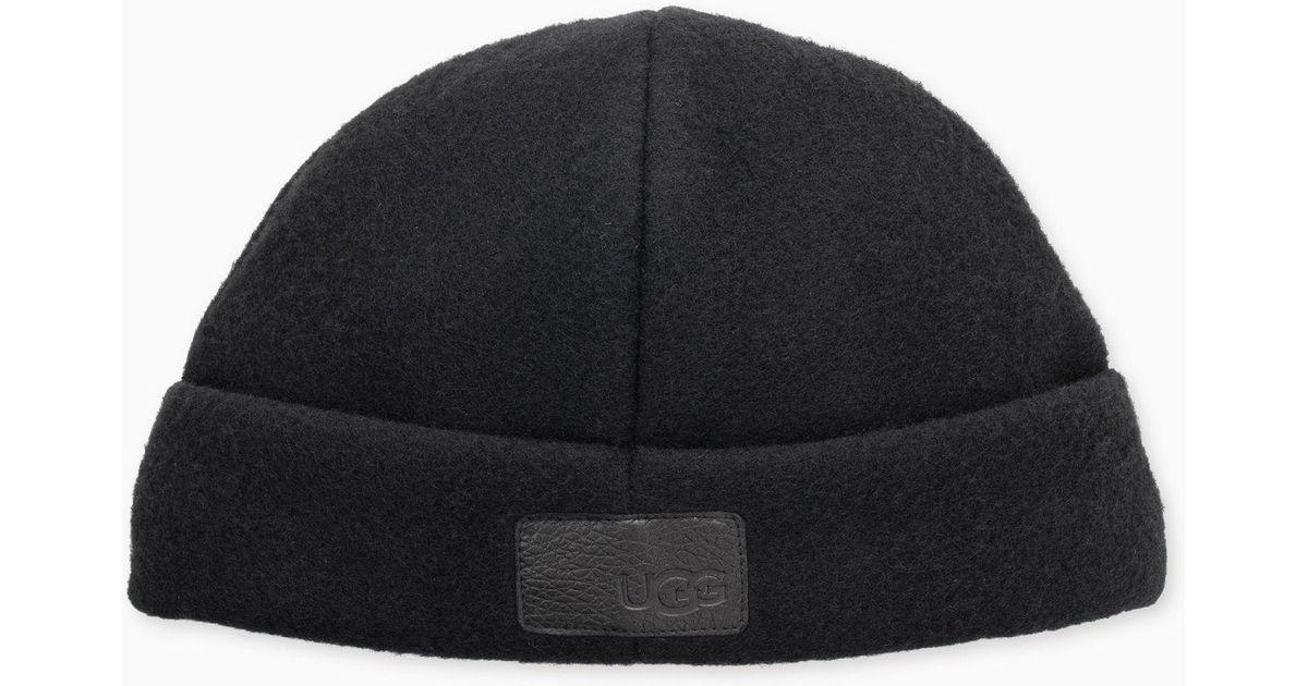 e141db76d43 Lyst - UGG Men s Wool Felt Cuff Hat in Black for Men