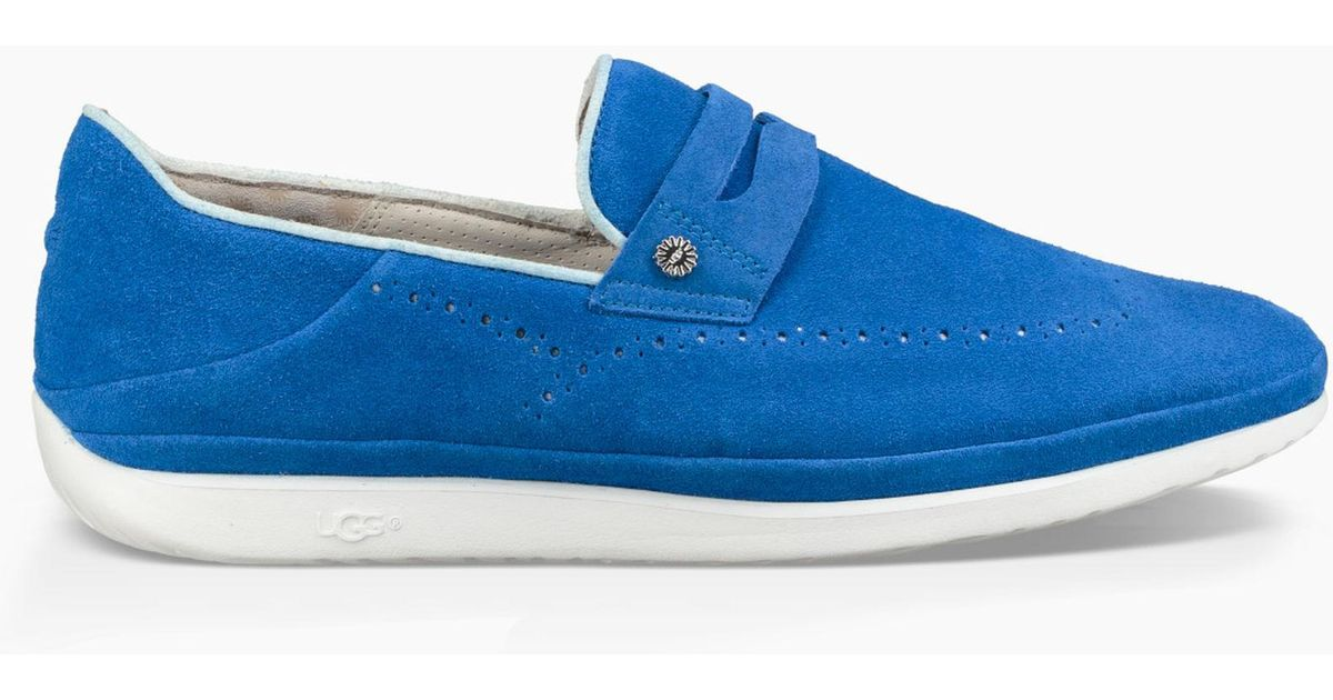 e06a26bf002 Ugg Blue Cali Penny Slip-on (turkish Sea) Shoes for men