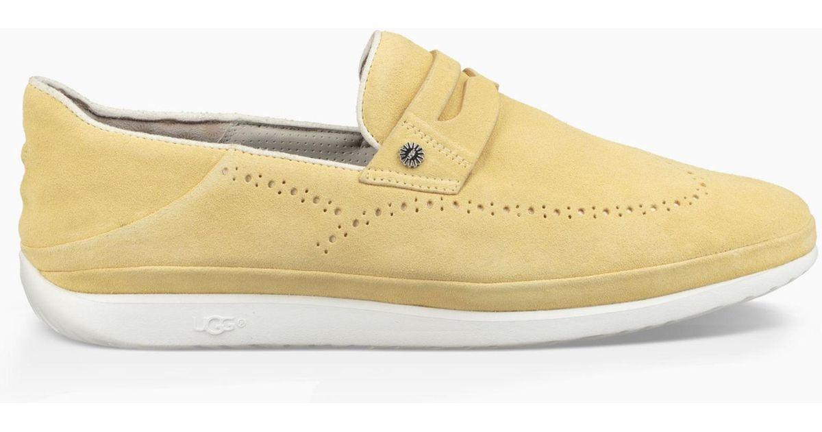 772a21bddd9 Ugg Metallic Cali Penny Slip-on (citron) Shoes for men