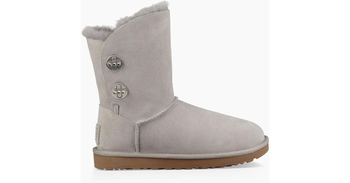 399c5909a22 Ugg Gray Women's Short Turnlock Bling Boot