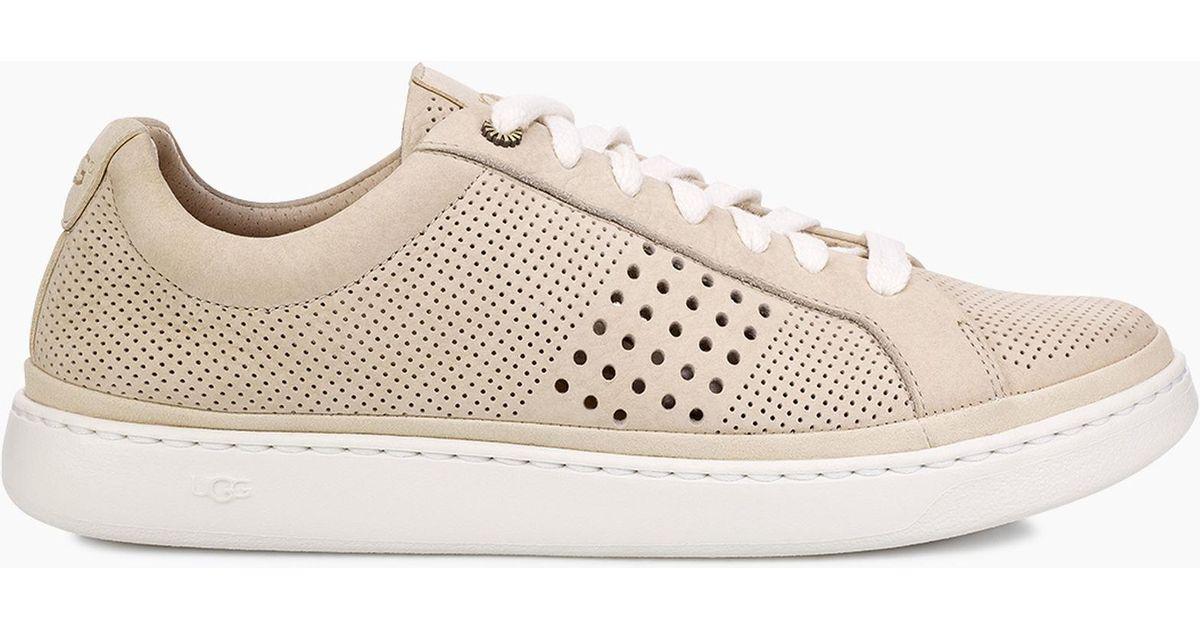 UGG Leather Cali Sneaker Low Perf Cali