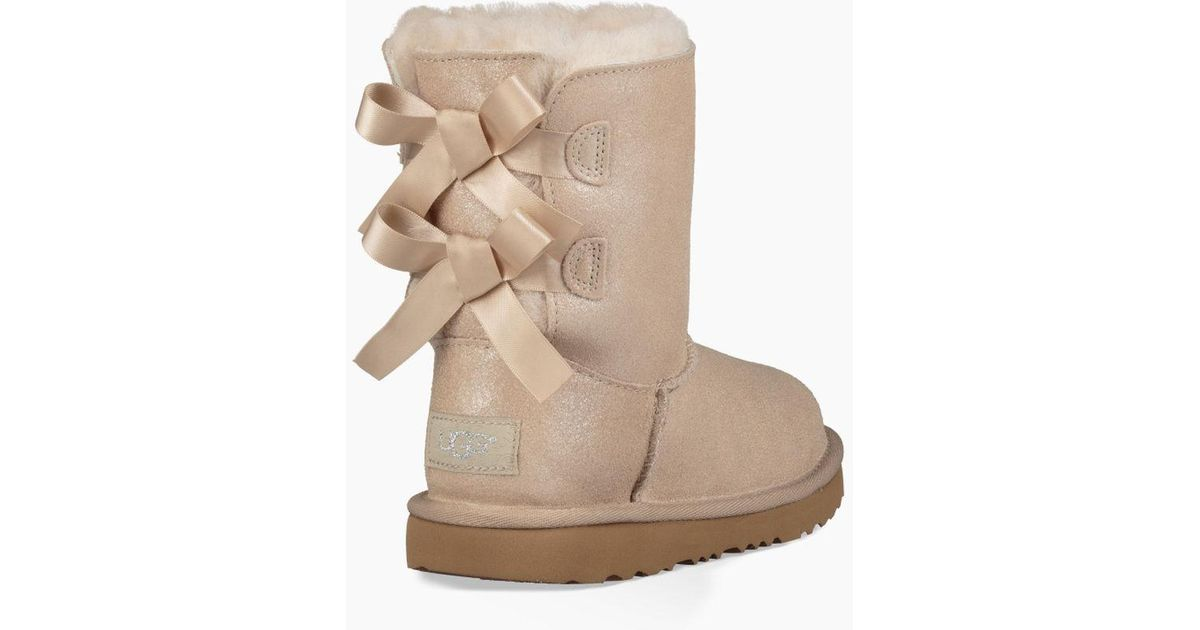 a1337796c70 Ugg Metallic Kids' Share This Product Bailey Bow Ii Shimmer Boot