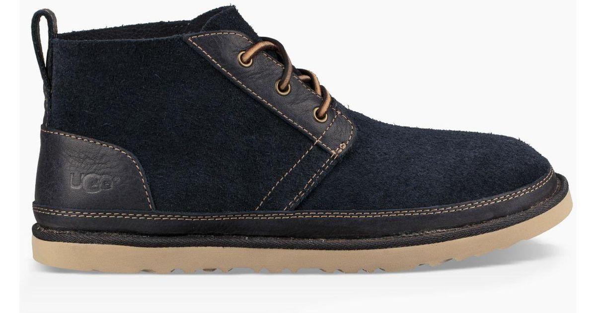 3c8a4eb498d Ugg Blue Neumel Unlined Leather Boot Neumel Unlined Leather Boot  Replacement Laces for men