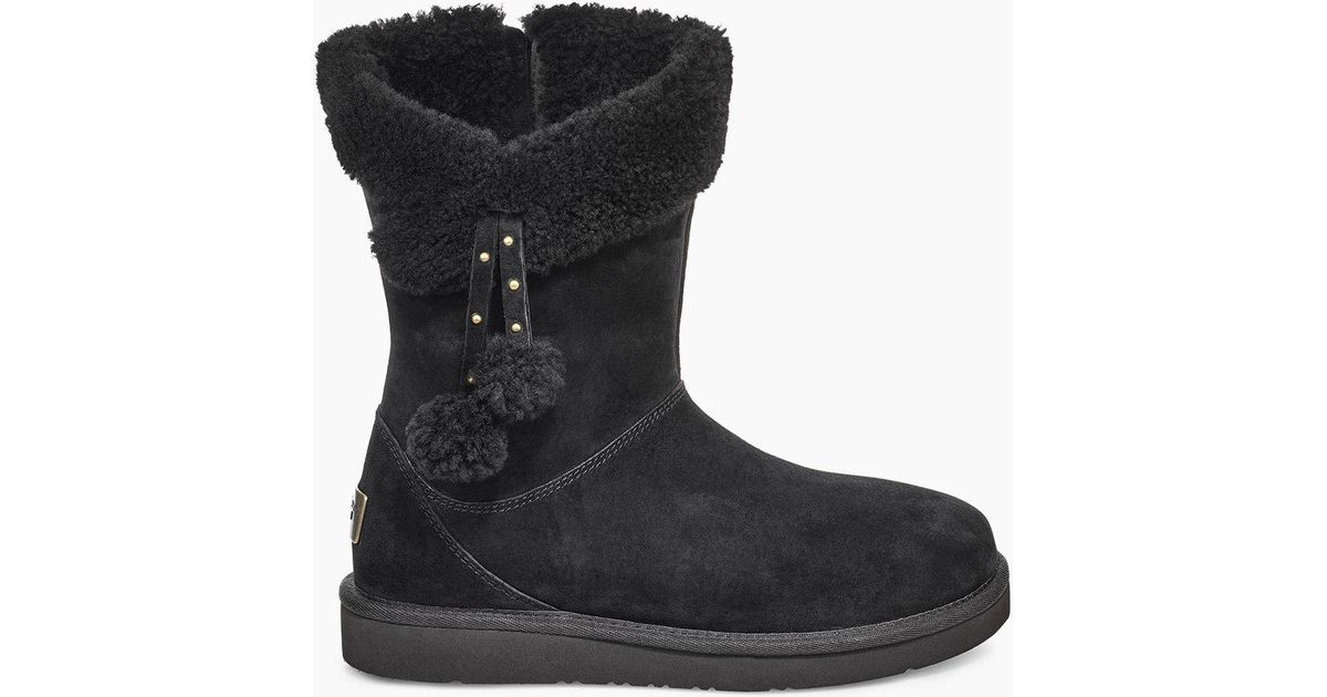 d872066779c Ugg Black Women's Share This Product Plumdale Cuff Short