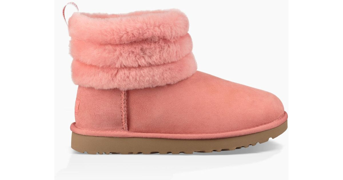 57df5c1445e Ugg Pink W Fluff Mini Quilted