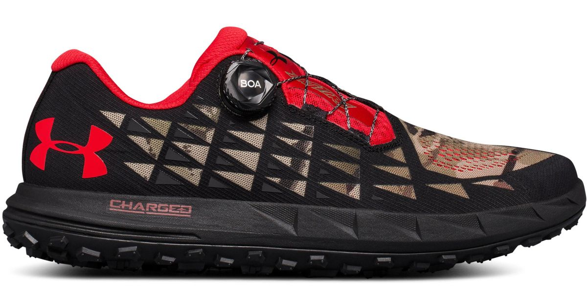 timeless design 0bf76 5a04e Under Armour Black Fat Tire 3 Trail Running Shoes for men