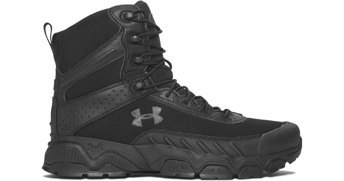1935e3e1921 Under Armour Black Men's Ua Valsetz 2.0 Tactical Boots for men