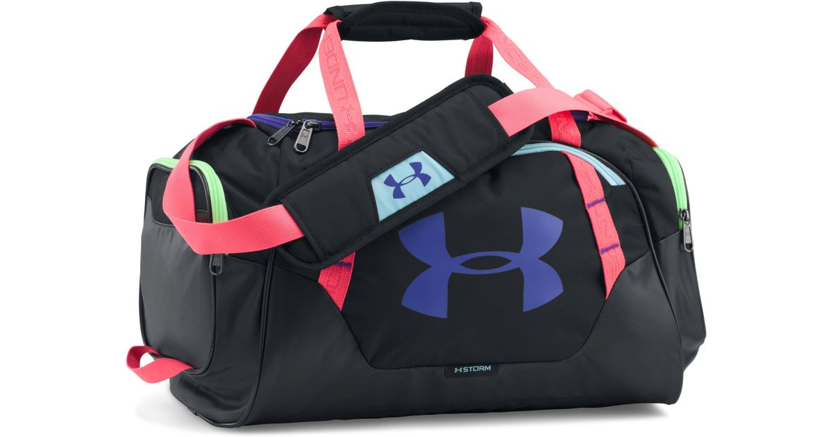 1ac33657 Under Armour Ua Undeniable 3.0 Extra Small Duffle in Black for Men - Lyst