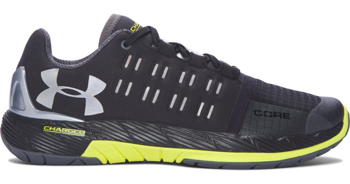 low priced df647 9228a Under Armour Black Women's Ua Charged Core Training Shoes
