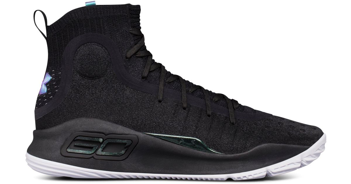 Ua Curry 4 Basketball Shoes in Black