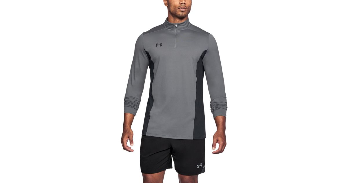 0b44a04a43 Under Armour Gray Men's Ua Challenger Ii Midlayer Shirt for men