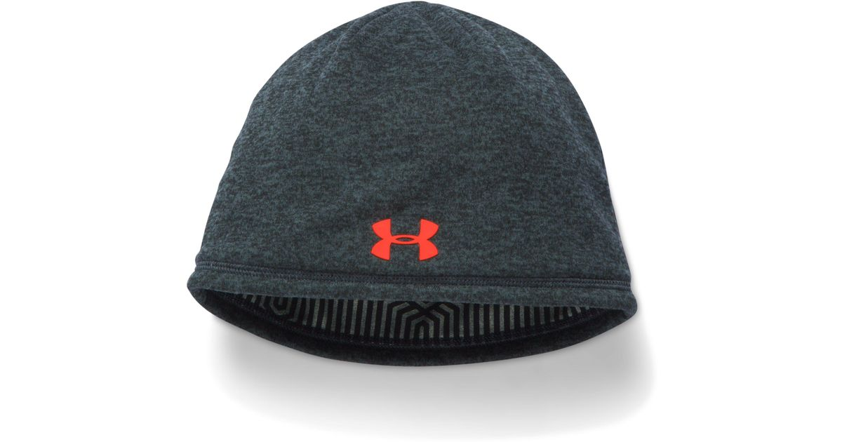 1bc71454defc2 Lyst - Under Armour Men s Ua Storm Coldgear® Infrared Elements 2.0 Beanie  in Black for Men