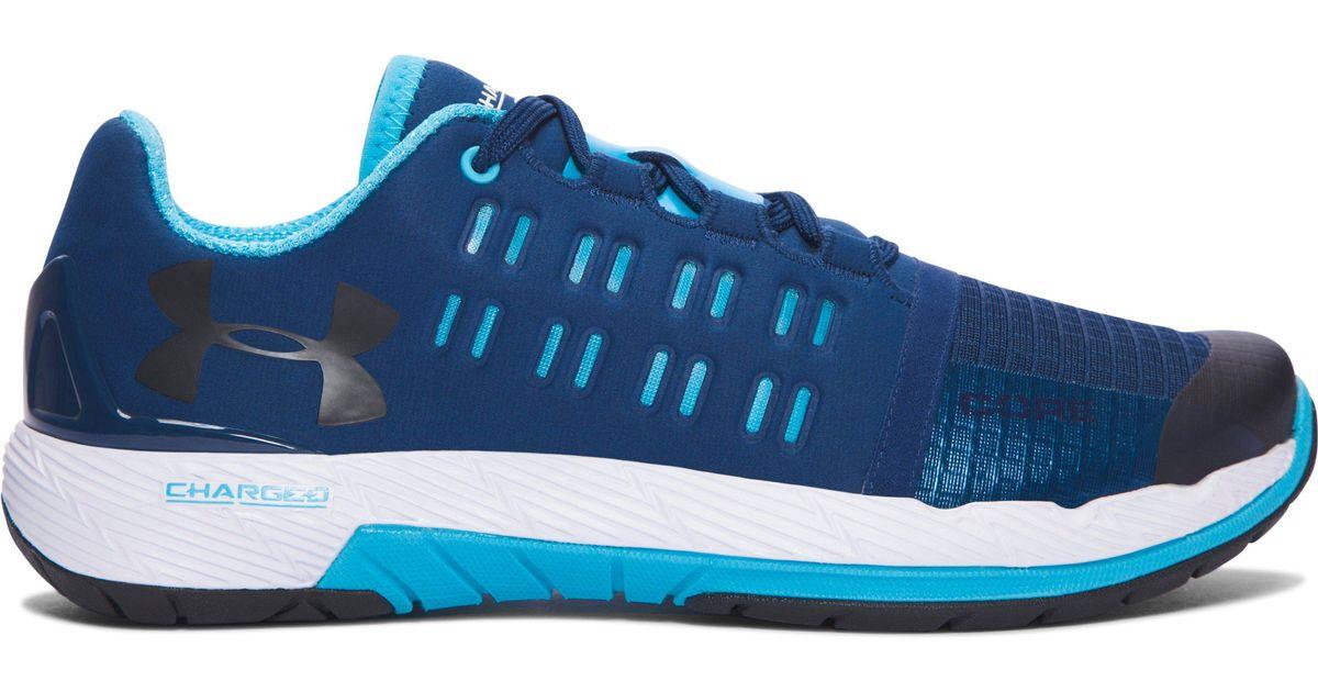 wholesale dealer 50dbd cf37d Under Armour Blue Women's Ua Charged Core Training Shoes