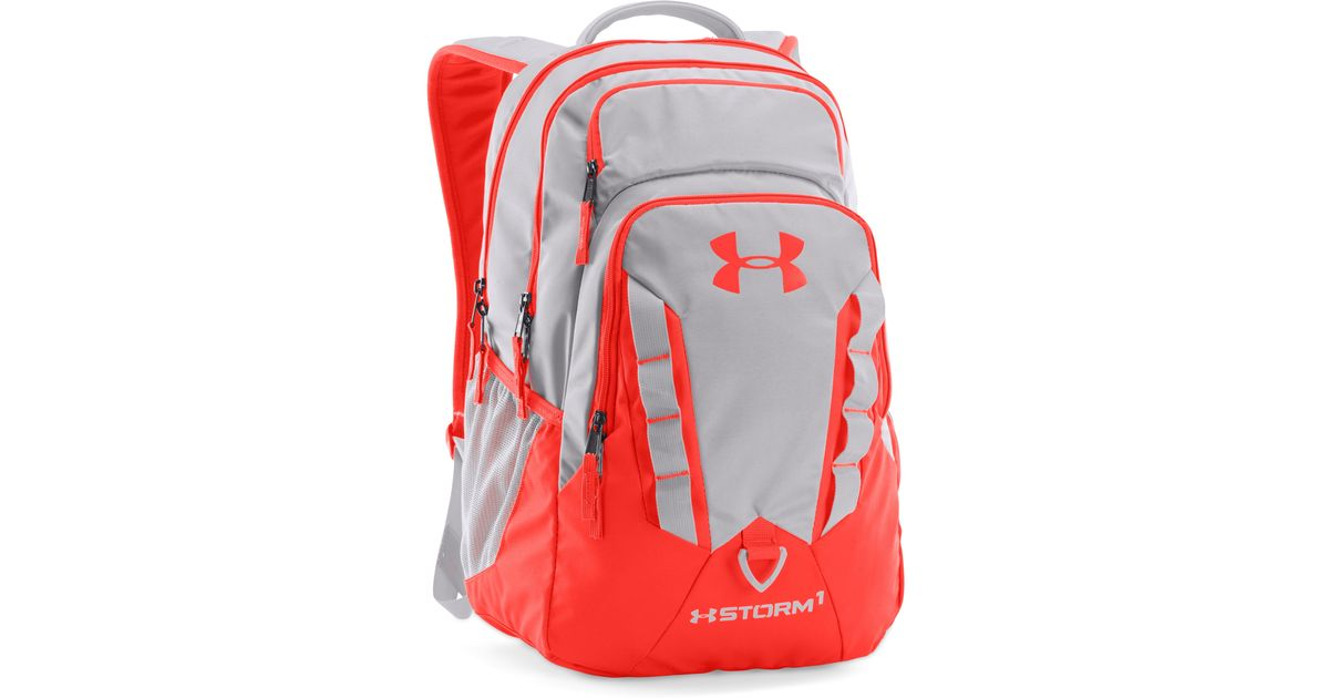 883637df56 Lyst - Under Armour Ua Storm Recruit Backpack in Gray for Men