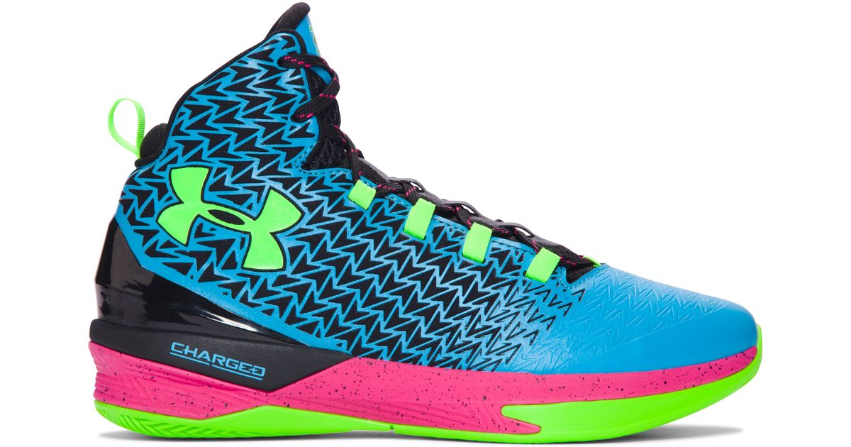 new concept 3584b 78a32 Under Armour Men s Ua Clutchfit® Drive 3 Basketball Shoes in Pink for Men -  Lyst