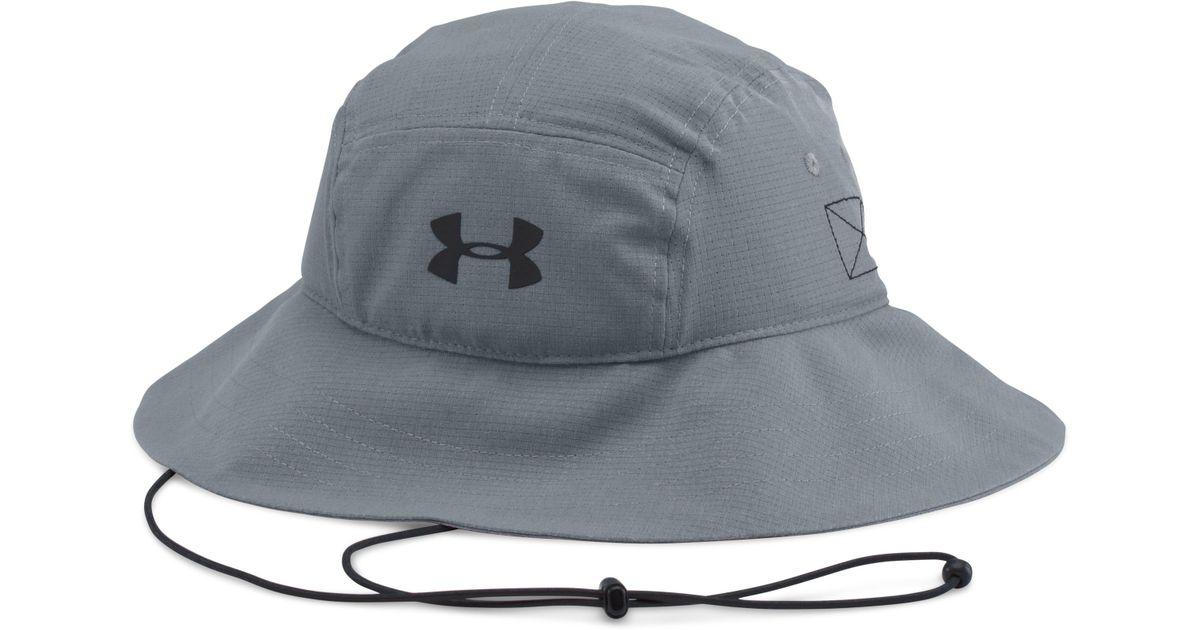 2b9cb0b2c95 Lyst - Under Armour Men s Ua Armourventtm Bucket Hat in Gray for Men