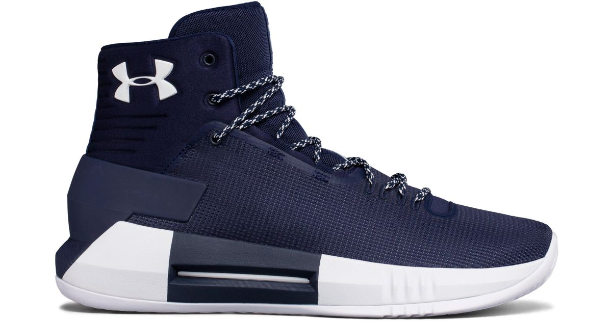 b920e810050e Under Armour Men s Ua Team Drive 4 Basketball Shoes in Blue for Men - Lyst