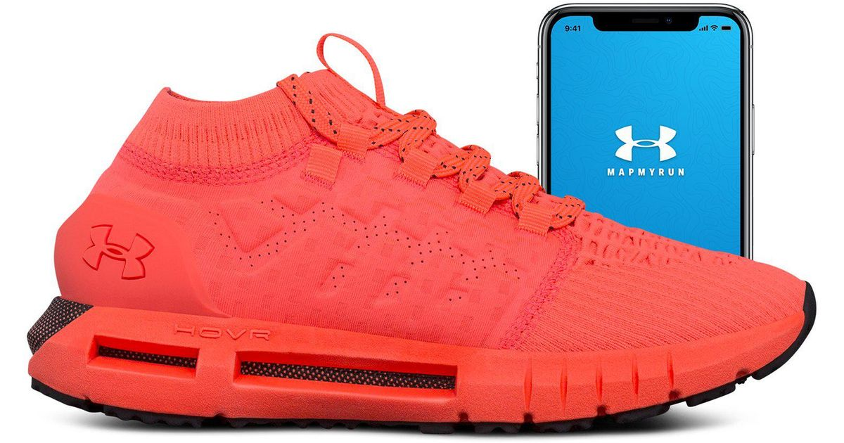 sale retailer 8b0eb 9c125 Under Armour Red Women's Ua Hovr Phantom Connected Running Shoes