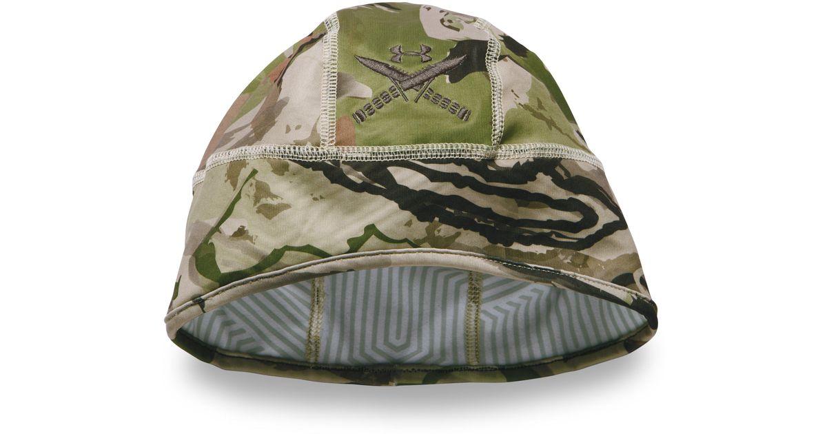 70d2c007c00 Lyst - Under Armour Men s Coldgear® Infrared Tactical Camo Beanie for Men