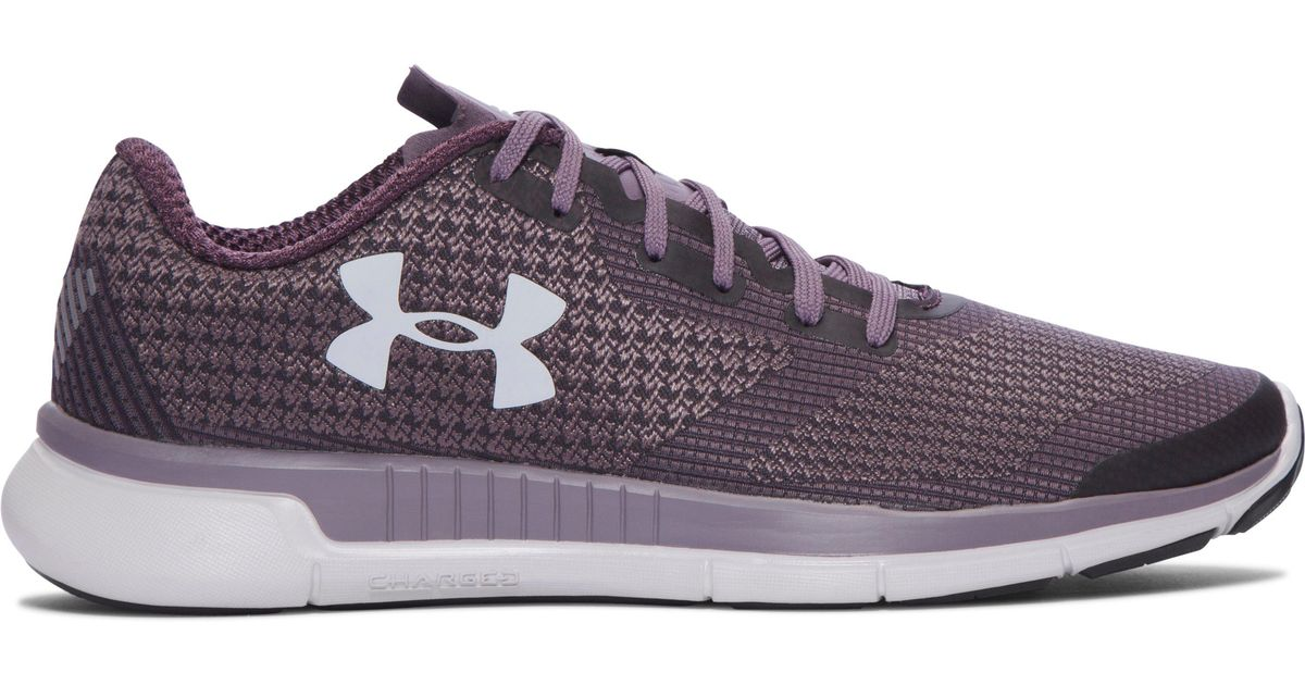 pretty nice 60f27 3012f Under Armour Purple Women's Ua Charged Lightning Running Shoes