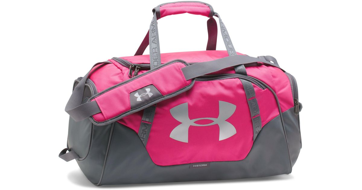 Lyst - Under Armour Undeniable 3.0 Medium Duffle Bag in Pink for Men - Save  23% 81127d8d0e