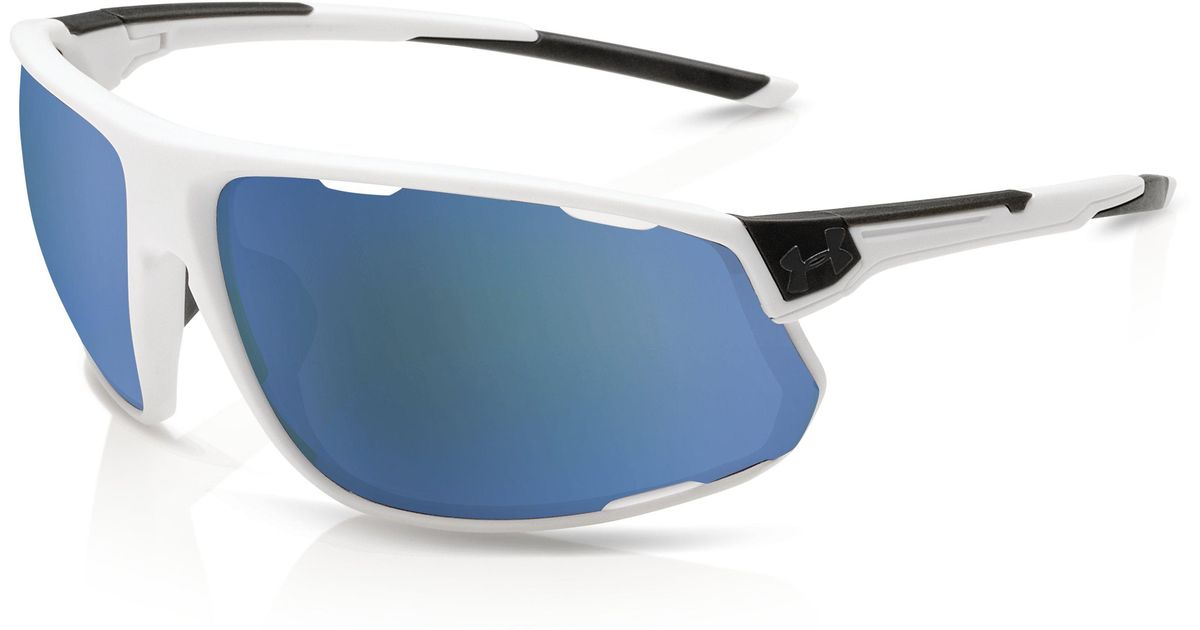 aa7164e8aa9 Lyst - Under Armour Men s Ua Strive Tuned Baseball Sunglasses in Blue for  Men