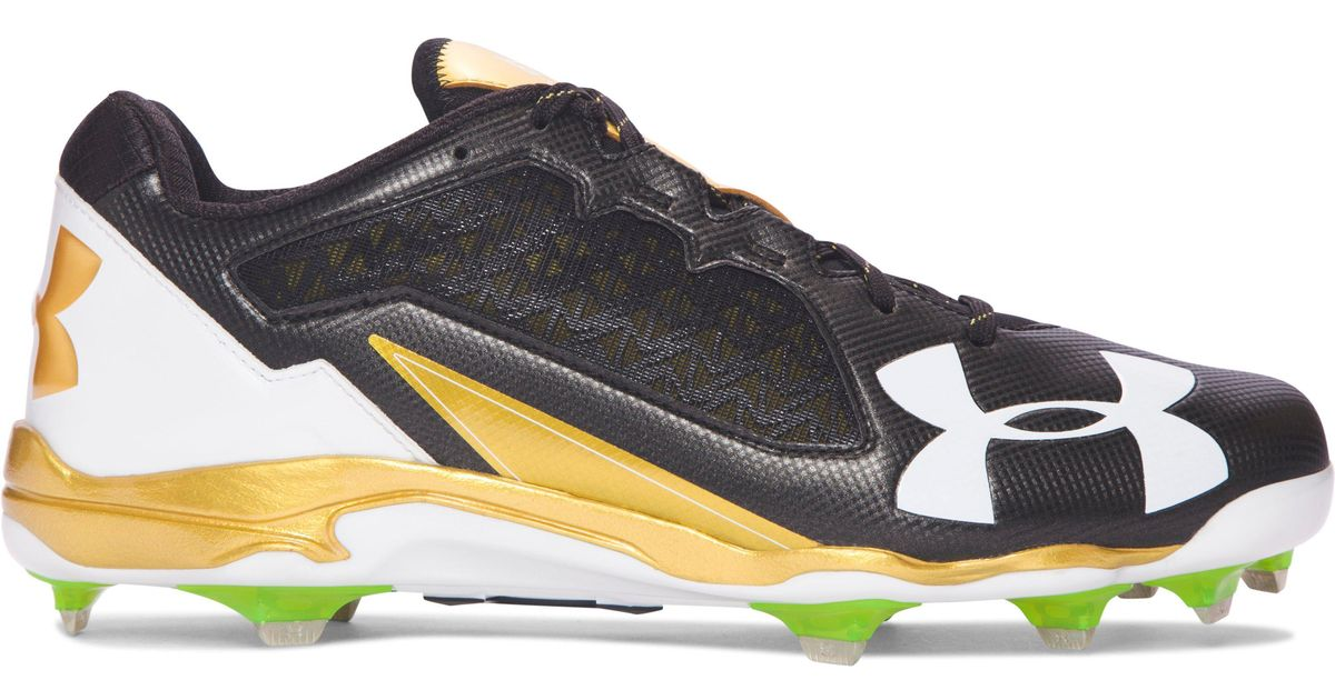 a8f60838aede Under Armour Men's Ua Deception Low Diamondtips Baseball Cleats in Metallic  for Men - Lyst