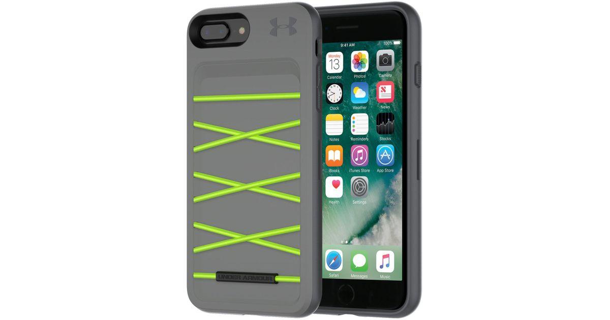 timeless design 4d5c8 4a517 Under Armour Green Ua Protect Arsenal Case For Iphone 8 Plus/7 Plus/6  Plus/6s Plus
