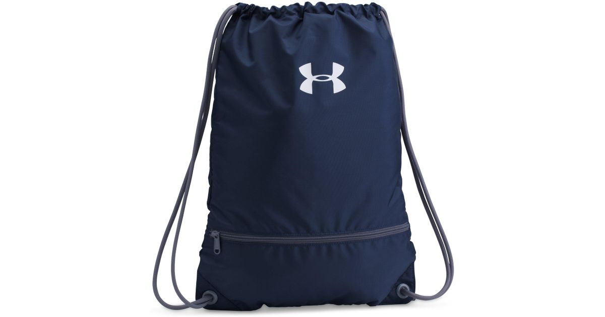 eb784045ab Lyst - Under Armour Ua Team Sackpack in Blue