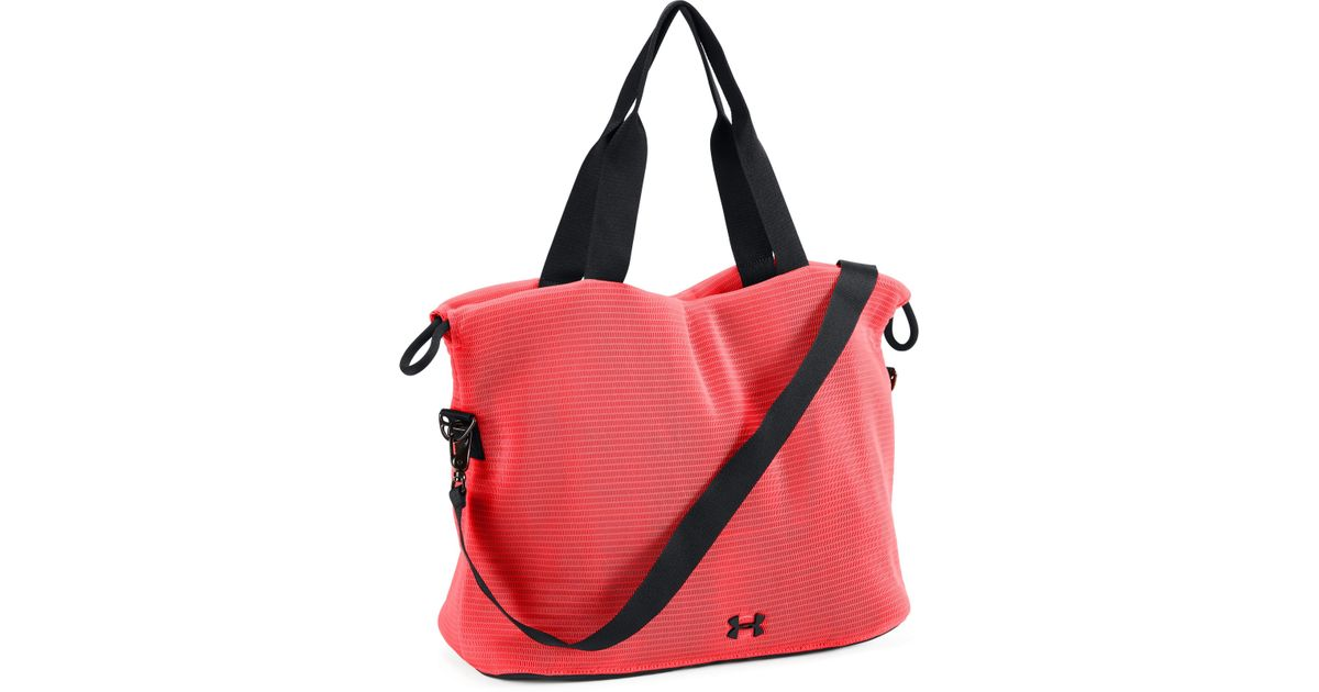 Under Armour Red Women S Ua Cinch Mesh Tote