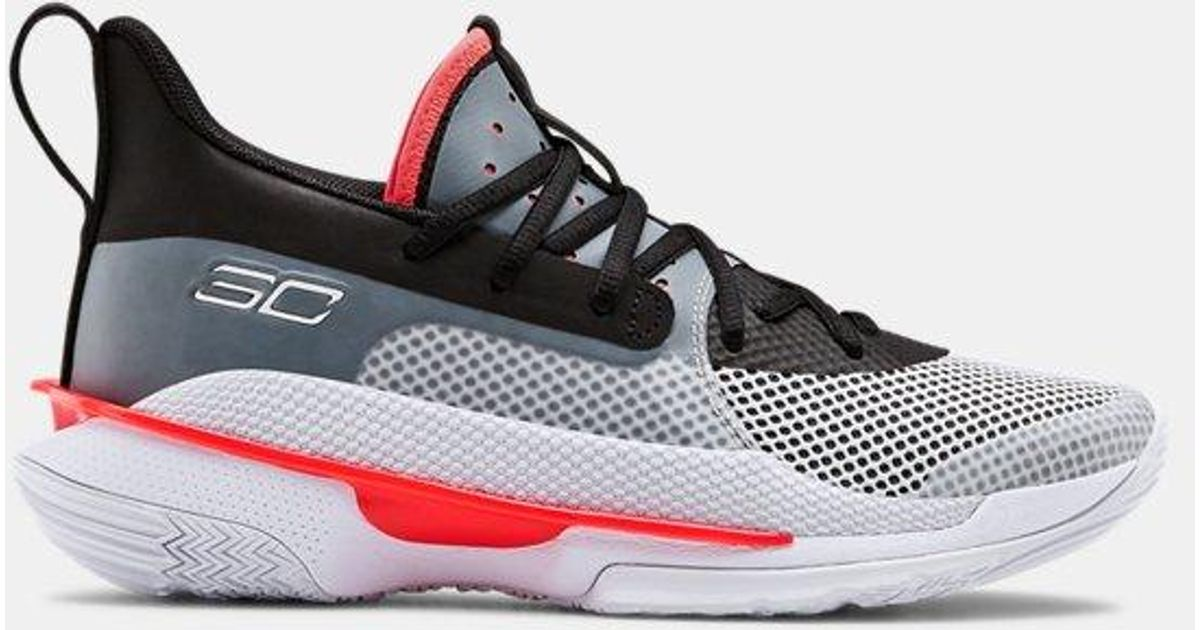 Details about  /NIB Under Armour Curry 7 Mens Basketball Shoes Sz 12 Super Soaker Free Shipping