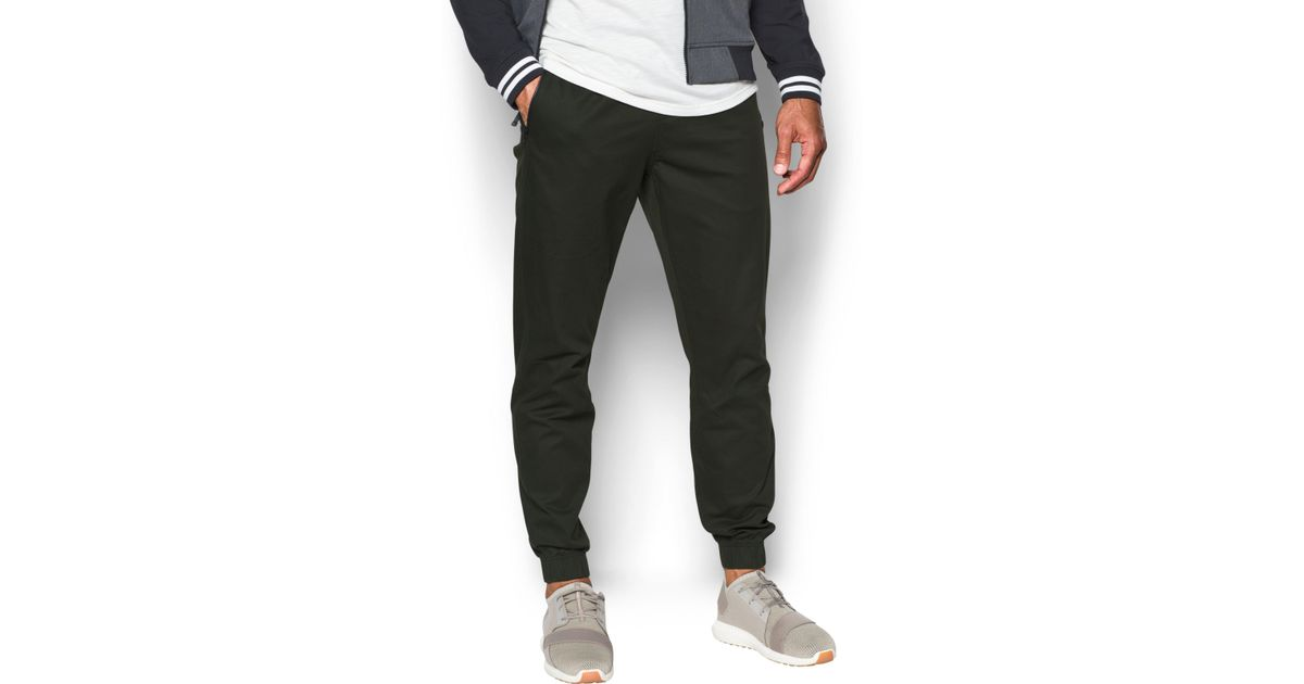 great variety models low cost low cost Under Armour Green Men's Ua Performance Chino Joggers for men