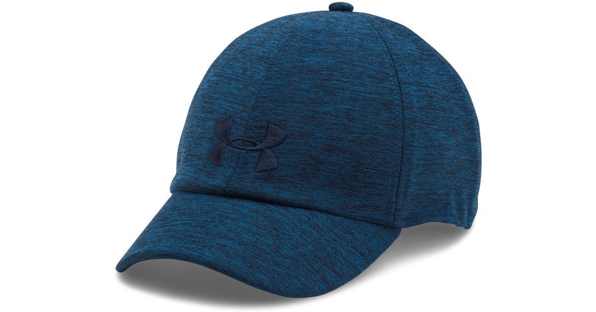 online store bcad4 cadd1 Under Armour Women s Ua Renegade Twist Cap in Blue - Lyst