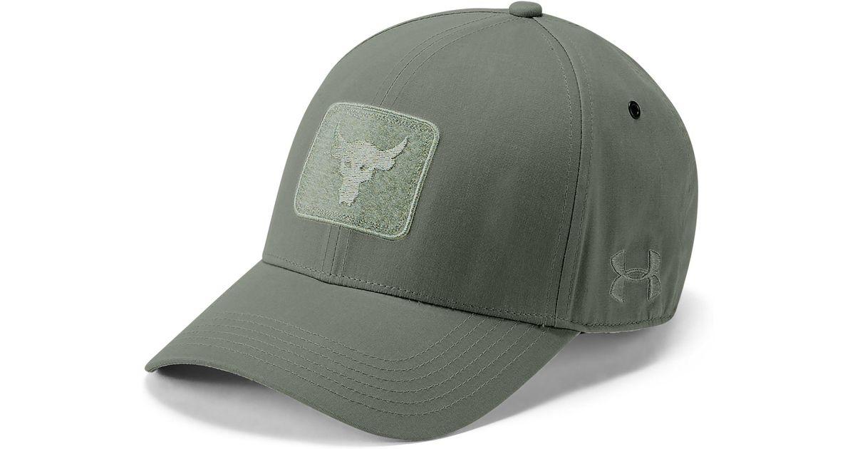 deb487a0a Under Armour Green Pro Series Rock Cap for men
