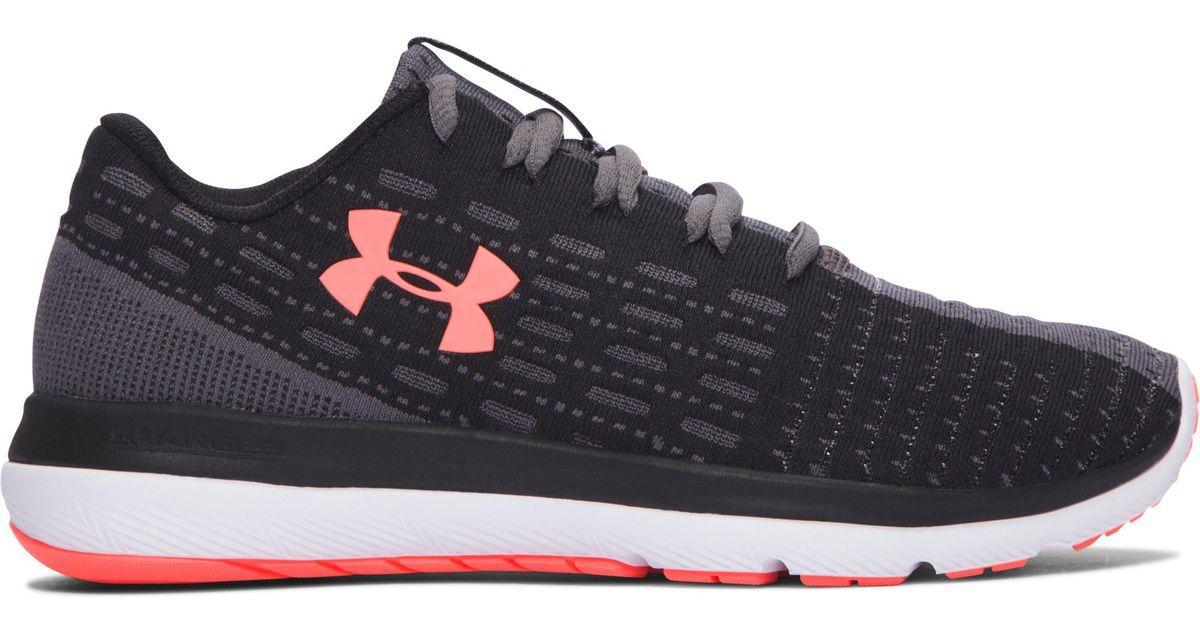 best website 3cf8e 4d80f Under Armour Black Women's Ua Threadborne Slingflex Shoes