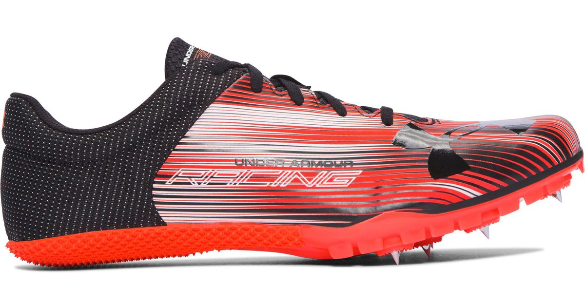 fb931cf31966 Under Armour Men's Ua Kick Sprint Track Spikes in Red for Men - Lyst