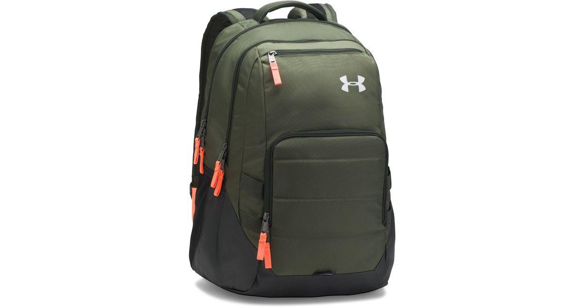 3900356ce2 Under Armour Green Ua Camden Backpack for men