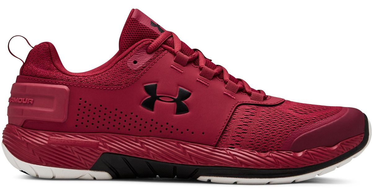 sale retailer 32ef2 051c8 Under Armour Red Ua Commit Tr Ex Fitness Shoes for men