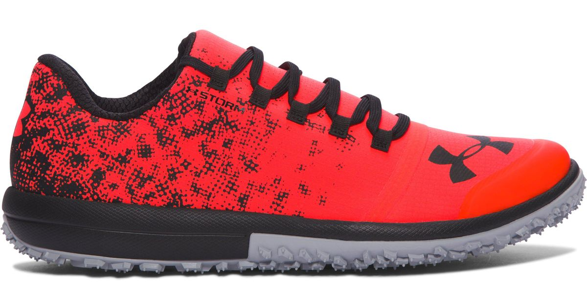 online store c2dda 898d8 Under Armour Red Men's Ua Speed Tire Ascent Low Running Shoes for men