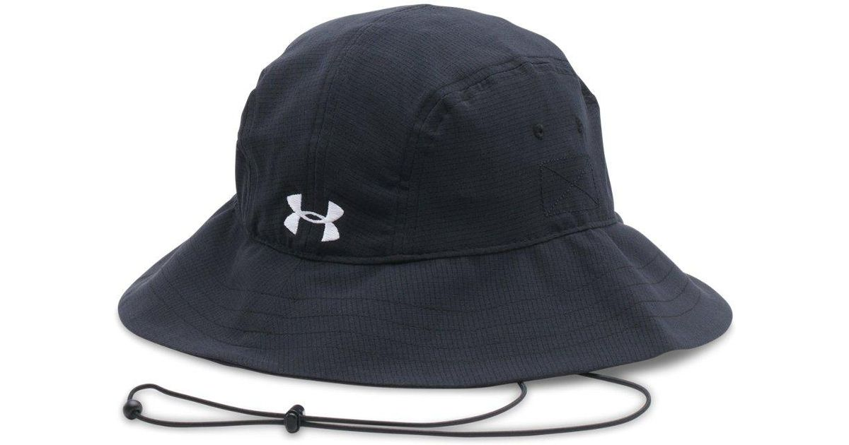 81819cfb5476b Lyst - Under Armour Warrior Bucket Hat in Black for Men