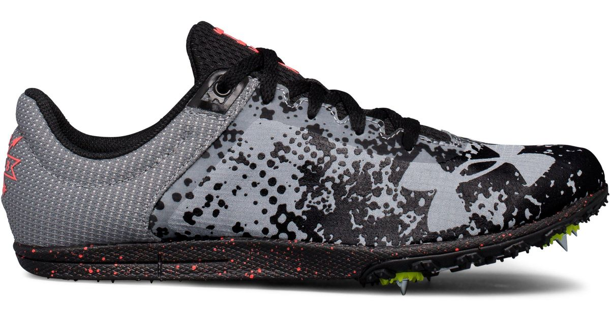 6913a11d88 Under Armour Black Ua Brigade Xc Spike Running Shoes for men