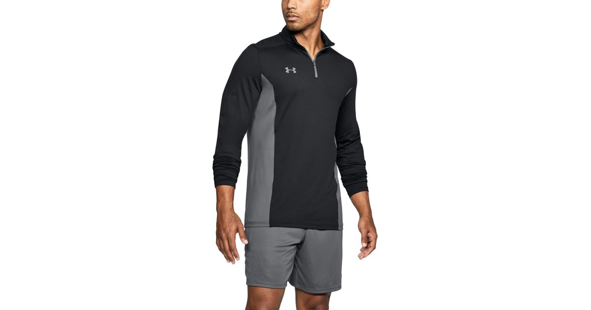 37835a017a Under Armour Black Men's Ua Challenger Ii Midlayer Shirt for men