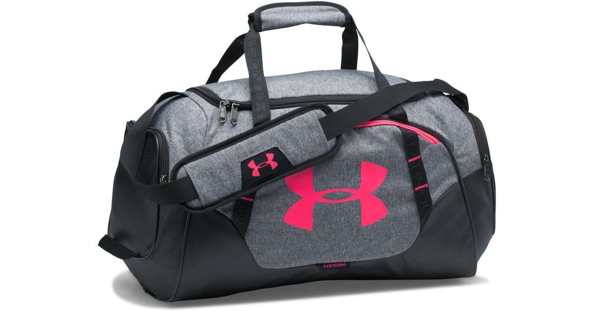 d2d2e2da51b9 Lyst - Under Armour Men s Ua Undeniable 3.0 Small Duffle Bag in Gray for Men