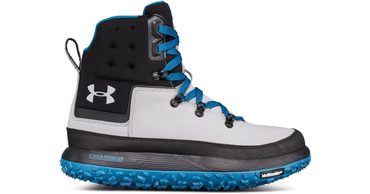wholesale dealer bc734 dbb70 Under Armour Blue Men's Ua Fat Tire Govie Hiking Boots for men