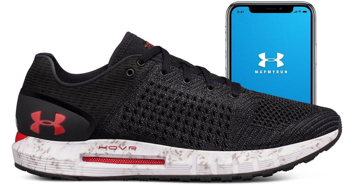 premium selection 39fbc f5706 Under Armour Black Men's Ua Hovr Sonic Connected Running Shoes for men