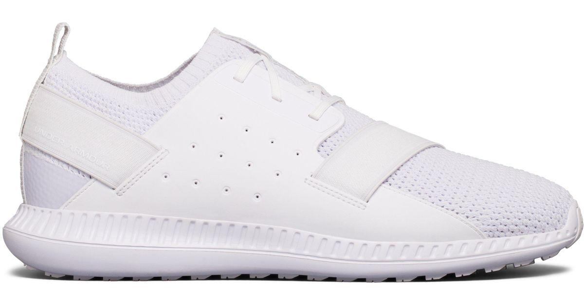 online store ab9cf a00a8 Under Armour White Men's Ua Threadborne Shift Lifestyle Shoes for men